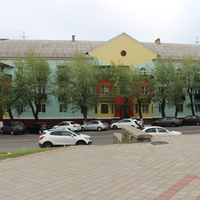 Лиски. Площадь Ленина.