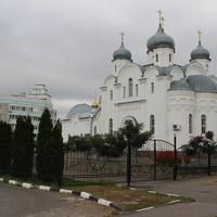 Лиски. Христорождественский храм на ул. Свердлова.