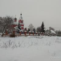 Четряково.Зима.