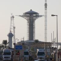 Мост короля Фахда. Смотровая площадка.