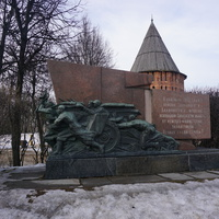 Памятник воинам в честь освобождения Смоленской области от фашистских захватчиков.