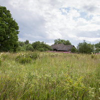 Симонов Городок вид по-за огородами 2015 год