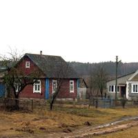 Дома деревни Вишневка