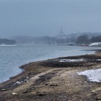 Естественный берег Москвы-реки от шлюза до Коломенского