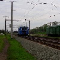 Пасажирська дрезина для залізничників по станції Кам'янка.