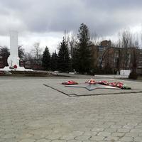 мемориал Гражданской и отечественной войны. март 2019г.