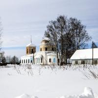 Вид на с. Спасо-Заозерье Зуевского района Кировской области
