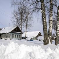 Дома в с. Спасо-Заозерье Зуевского района Кировской области