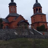 Церковь на берегу р.Днепр