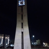Часы на привокзальной площади