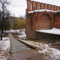 Фрагмент Смоленской Крепостной стены...