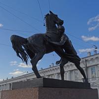 Скульптура на Аничковом мосту
