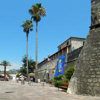 Котор, стены  Старого города