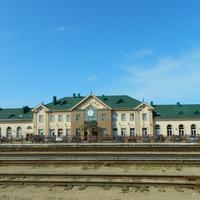 Лида. Железнодорожный вокзал