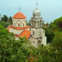 Херцег-Нови. Савин Успенский монастырь. Церковь Успения Пресвятой Богородицы (Большая)