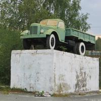 Автомобиль-памятник ЗИЛ-164