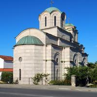 Тиват. Церковь Саввы Сербского