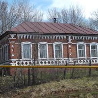 Выла- Базар жилой дом 18 век строил сам хозяин кирпичи делали сами