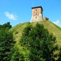 Новогрудок. Замок. Башня Костёлная