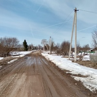 улица в д. Панинская