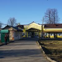 ЖД станция Старый Петергоф.