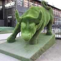 Скульптура на пр. Кадырова.