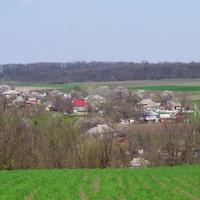 Ревівка,вид на сільський куток Масликівка.