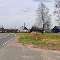 д. Мойсеевичи.  36 км дороги Р-91