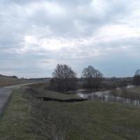 река Выла дорога деревню