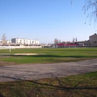 """Апрель 2019.Стадион """"Локомотив""""."""