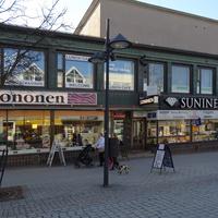 Магазины в центре Лаппеенранты