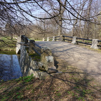 Мост через плотину.