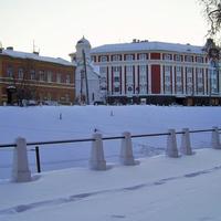 Н. Новгород - Вид на ул. Пожарского