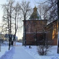 Н. Новгород - Вид на Никольскую башню Кремля