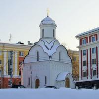 Ул. Пожарского - Храм-часовня Николая Чудотворца