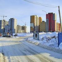 Н. Новгород - Строительство ЖК Новая Кузнечиха