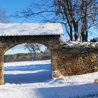 Первый  снег, д.Рогово