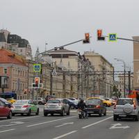 Перекрёсток Садовое кольцо / проспект Мира / Сретинская улица