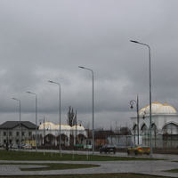 Шали. Мечеть Рамзана Кадырова.