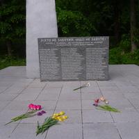 Прізвища 56 односельчан які загинули на фронтах війни.