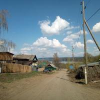 река Кама вдали
