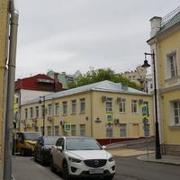 Перекрёсток Трубной улицы и Большой Головин переуулок
