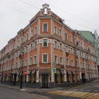 Трубная улица 22, дом 1890-е годов, архитектор А. А. Латков.