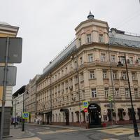 Переулок Трубная улица и Большой Сухаревский переулок