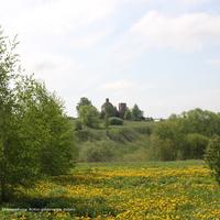 Панорама  Вознесенской церкви в д. Хотенское