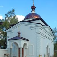 Малоярославец. Николаевский Черноостровский монастырь. Церковь Спиридона Тримифунтского (строящаяся)