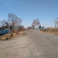 Центральная улица села