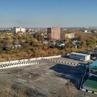 Вид с бизнес-центра Новый Квартал