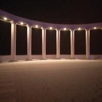 Вечерняя ротонда на набережной