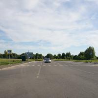 Дорога на аэродром Третьяково